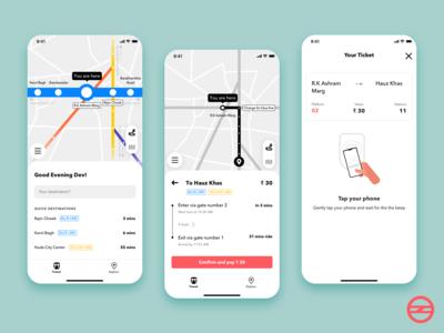 Delhi Metro App Part-1