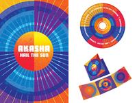 "Akasha ""Hail The Sun"" CD Packaging"
