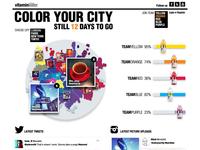Colour Your City Concept