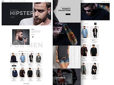 Jakiro - Fashion PSD Template