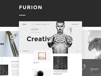 Furion - Creative Portfolio PSD Template
