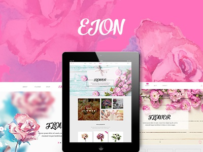 Eion - Flower Shop WordPress Theme