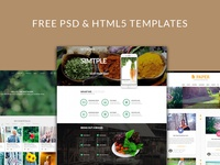 Free PSD and HTML5 Template