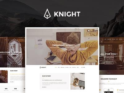 Knight - Multipurpose Corporate & Shop Template