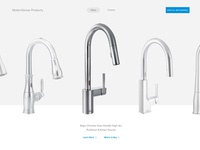 Moen Product Slider