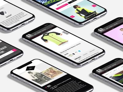Giordana Cycling cycling design website e-commerce ux ui product web charlotte