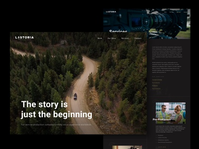 LaStoria Productions agency colorado production video design ux website ui charlotte web