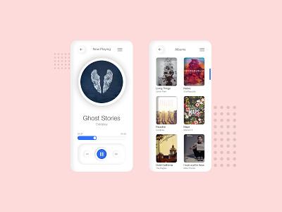 music neumorphism 2020 2020 trends neumorphism neumorphic user interface design user interface design userinterface ui ui design uidesign uiux