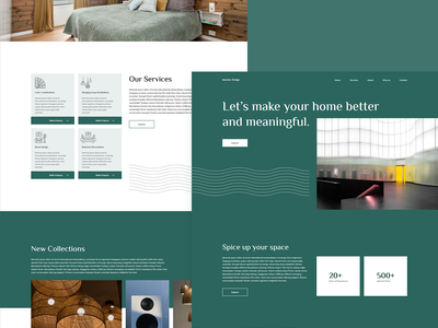 Interior Design Website Landing Page Design web design 2021 trend 2020 trend latest trend furniture website template user interface design website design elementor interior design dribbble best shot trending design trending