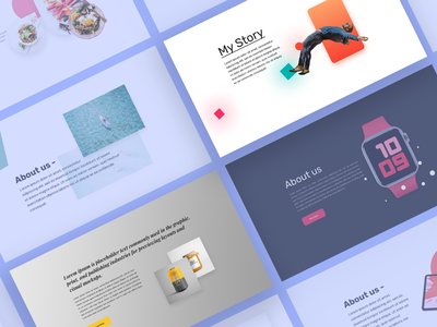 Elementor Section Blocks #1 mohit panchal ideabox creations trending design best shot helloideabox web design ui landingpage template section elementor wordpress user interface design