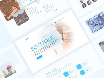 Elementor Section Blocks #2 mohit panchal web design user experience template elementor templates uidesign wordpress theme section sections trending design wordpress blocks elementor user interface design