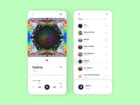 Music Player Mobile App UI