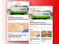 News Feed: Eater app