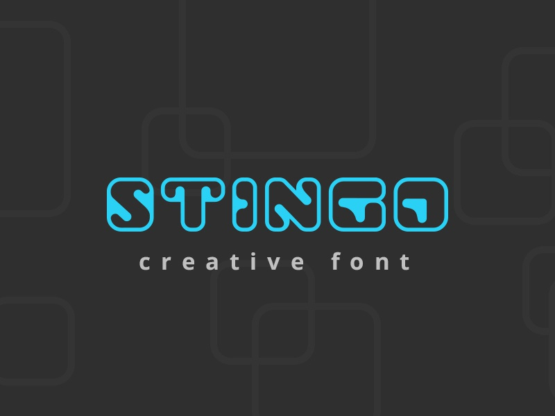 Stingo Digital Font By Sentavio Dribbble Dribbble
