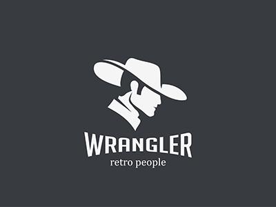 Wrangler Cowboy Logo