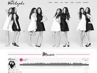 Viva la Violette- Custom Wordpress Design