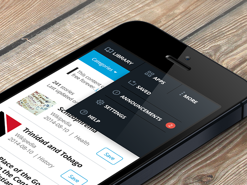 Outernet Librarian Mobile UI by Rakesh on Dribbble