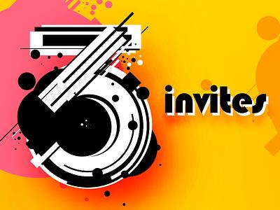 3 Dribbble Invitations player prospect draftee draft invitation invite giveaway invitations invites dribbble