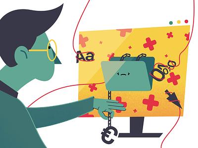 Healthcare health character illustration design dribbble artoftheday inspiration digital art moho vector