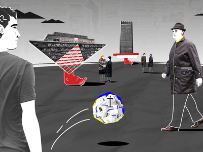 Information game in communism raster vector illustration design digital art dribbble inspiration artoftheday moho illustrator photoshop collage game information communism