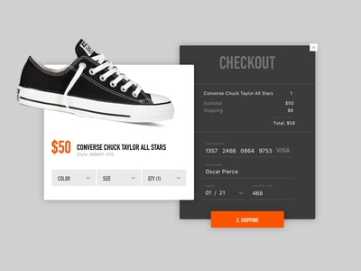 Daily UI Challenge 002: Credit Card Checkout desktop credit card checkout daily ui daily ui challenge 002 daily ui challenge design ui