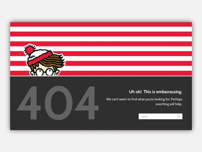 Daily UI Challenge 008: 404 Page 404 error 404 page daily ui daily ui challenge 008 daily ui challenge design desktop ui