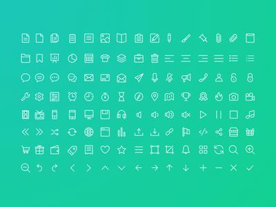 Line Icon Set (Free Download) icon set line icon set line icons icons set icon line
