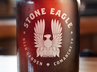 Stone Eagle Beer Garden Growler