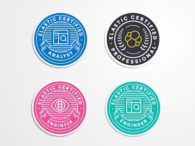 Elastic Certification Program branding analyst engineer certification certificate training