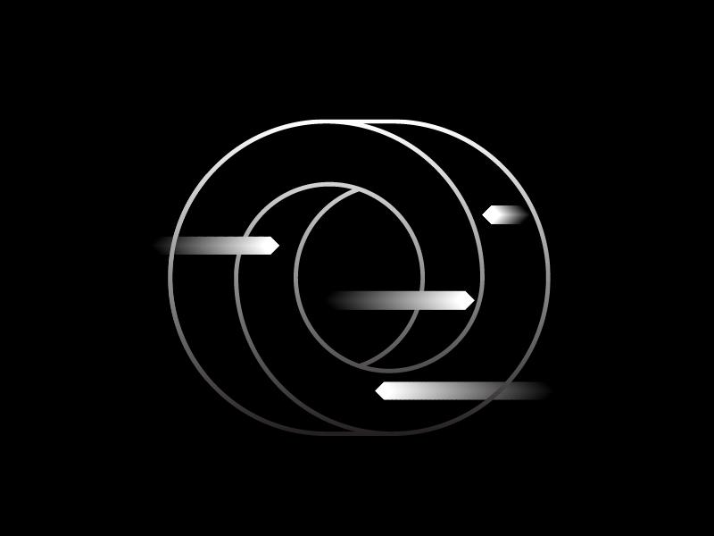 Loop abstract concept form shape vector twist loop