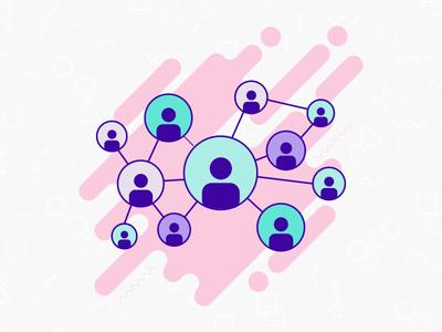 Exchange people in Network