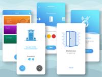 Creative IOT Mobile Ui