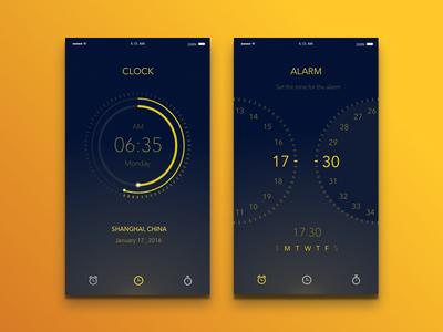Clock & Alarm app