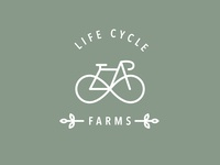 Bike Powered Farm Logo Concept