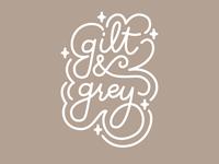Gilt & Grey Logo Concept