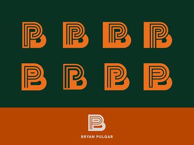 Bryan Pulgar Logo b font logo type holatania typography letter branding mark
