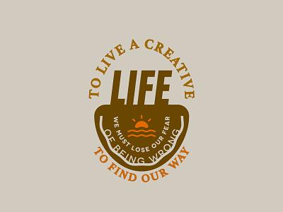 Words Wednesday. illustration holatania typography identity lines type font geometric sun logo round logo badge