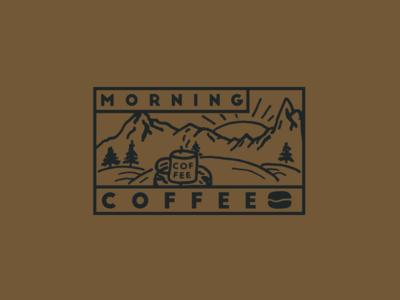 Morning Coffee label