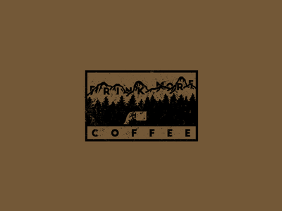 Drink More Coffee Label