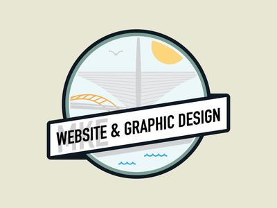 MKE Website & Graphic Design | Label for Graphic Terrace