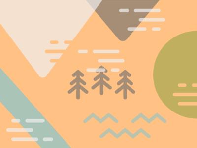 Camp vibes pattern