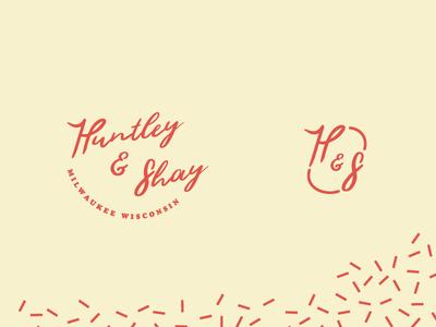 Huntley and Shay logo design