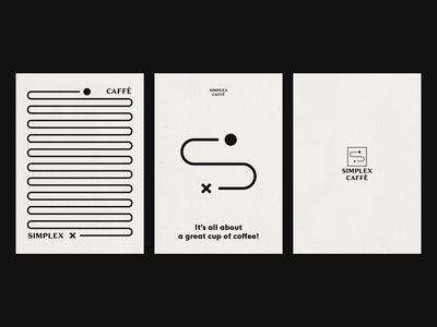 Simplex Caffè / Posters