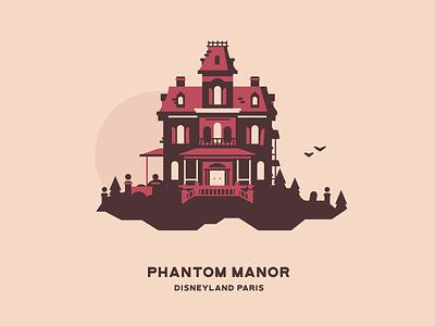Phantom Manor halloween spooky manor disneyland paris disneyland house mansion theme park haunted mansion phantom manor haunted house