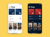 🤙 Hang iphone app ios live live video chat broadcast video video chat emoji hang