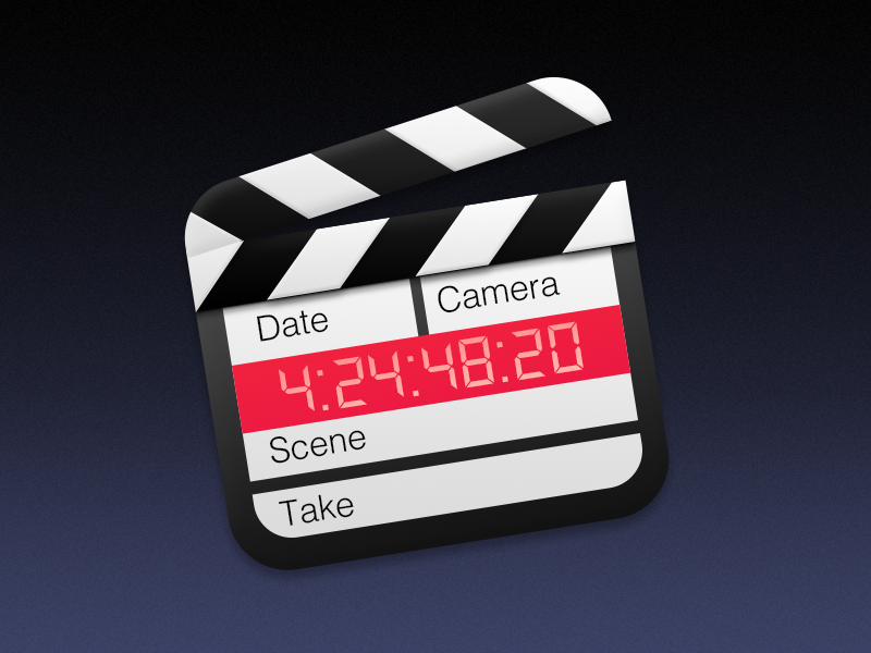 Clapperboard Icon clapperboard icon movie clapper yosemite os x app