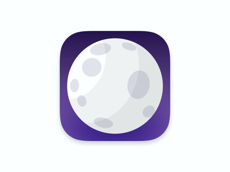 Luna App Icon luna moon app icon reddit ios