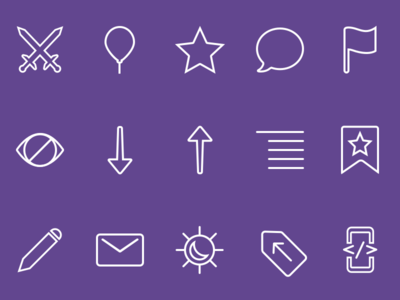 Luna In-App Icons tags themes flag comments sorting icons downvote upvote reddit app ios luna