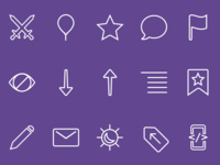 Luna In-App Icons