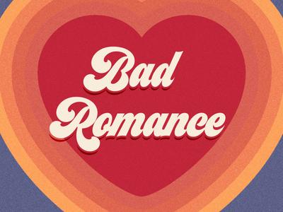 Bad Romance artwork album podcast heart romance bad